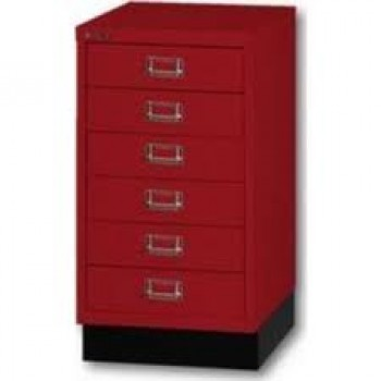caisson 6 tiroirs bisley multidrawer a3 rouge cardinal modules et caissons tiroirs. Black Bedroom Furniture Sets. Home Design Ideas