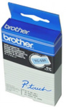 Cassette ruban Brother TC-601 - 12 mm - noir / jaune