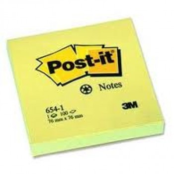 post it 76*76 mm jaune