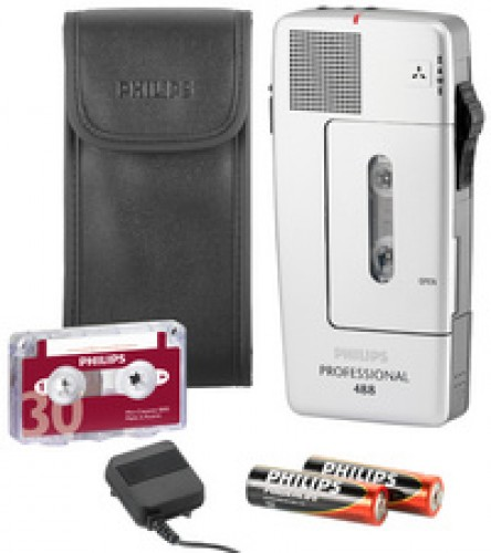 PHILIPS dictaphone Pocket Mémo 488 Professional