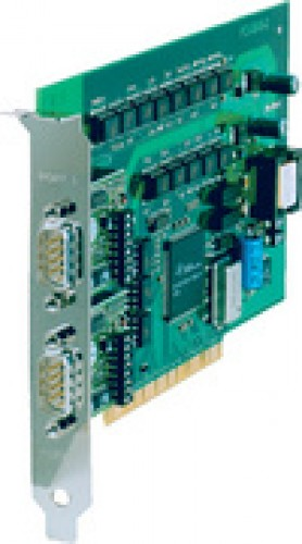 W&T carte d'interface sequentielle pour bus PCI - 2 x RS232