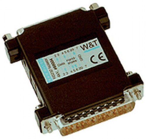 W&T isolant optique RS232 - 4 KV - 0 - 115.200 Baud
