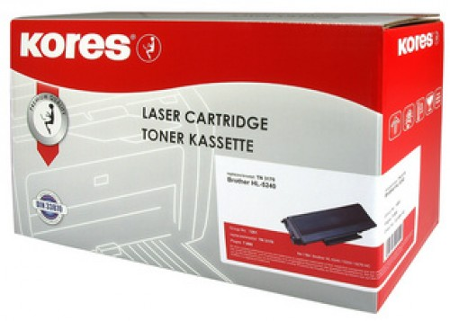 Toner compatible Brother TN3060 (TN-3060) noir - Kores