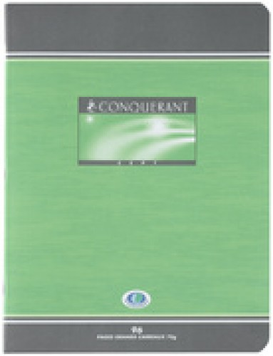 CONQUERANT SEPT cahier - A4 - quadrille - 192 pages