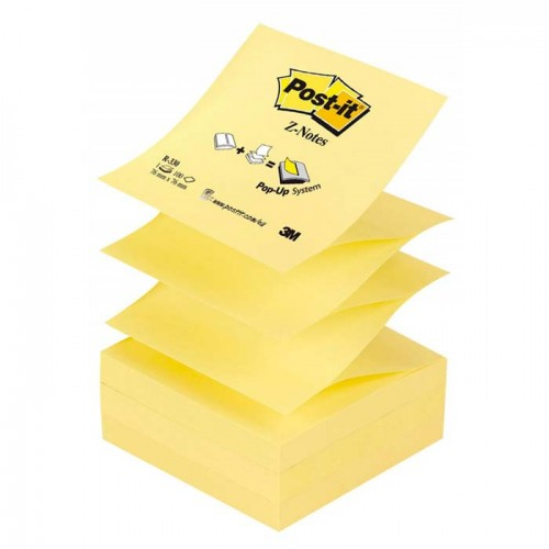 Bloc de post-it Z-notes jaune