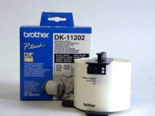 brother DK-11202 étiquettes expédition, 100 x 62mm, blanches
