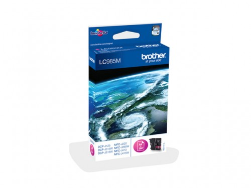 BROTHER - Cartouche Magenta - 260 pages - LC985M