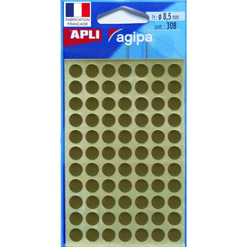 pastille de signalisation or diametre 8,5 mm