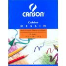 Canson Cahier a dessin - blanc. 24 pages - 240 x 320 mm -