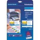 Cartes de visite Avery Laser  - 85 x 54 mm - satin - 220g - 100 cartes