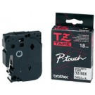 Cassette Brother TZE-SE4 safety - 18 mm - noir / blanc