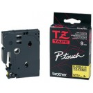 Cassette Brother TZE-S121 extra solide - 9 mm - noir / transparent