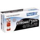 Rapid agrafes Super Strong 24/8+ - galvanisé