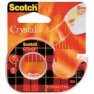 Scotch 3M Crystal Clear 600 - très transparent - avec dévidoir