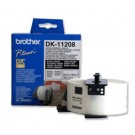Etiquettes adresses Brother DK-11208 - 90 x 38 mm - blanches