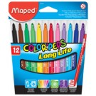 Maped Feutre COLOR'PEPS - étui 12 - largeur de tracé M