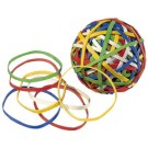 Bandes élastiques Rubberball - multicolores - 60 mm
