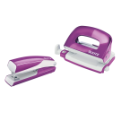 Agrafeuse et perforatrice pack WOW - violet