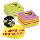 3M cubes de Notes Post-it - 76x76 mm - pack promo
