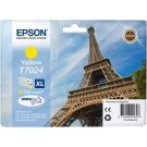Cartouche Epson WorkForcePro 4000/4500 - T7024 - jaune - XL