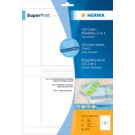HERMA Etiquettes CD-Box SuperPrint - blanc - (5078)