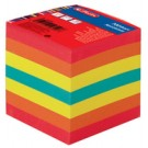 Bloc cube Herlitz - 90 x 90 mm - multicolore - 80 g/m2 - 800F