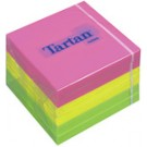 Tartan bloc-notes repositionnable - 38 x 51 mm - 3 couleurs néon -