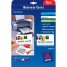 Cartes de visite Avery - 85 x 54 mm - brillant - 240g - 80 cartes