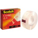 Scotch 3M - Ruban adhésif Cristal Clear 600 - 19 mm x 33 m