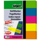 index repositionnables Film mini - 50 x 12 mm - 5 couleurs