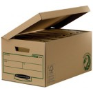 Boite archivage Maxi Bankers Box EARTH avec couvercle rabattable