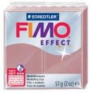 pate fimo effect paillette or rose