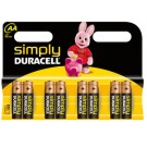 Pile AA Duracell, blister 8