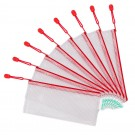 porte-document plastique dl rouge
