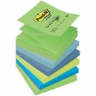 post-it 6 couleurs Z-notes
