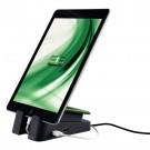 support chargeur de tablette ipad vertical