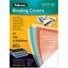 couverture plastique fellowes transparente
