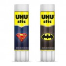 UHU stic batman superman