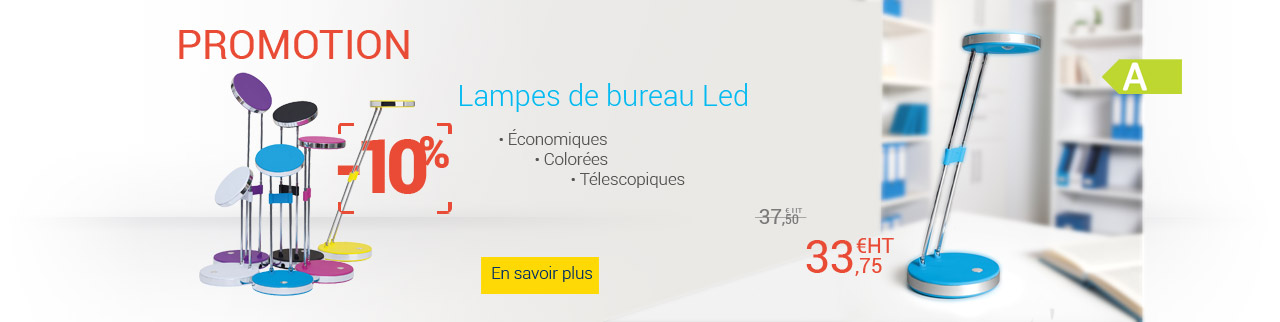 Promotion Lampes de bureau LED