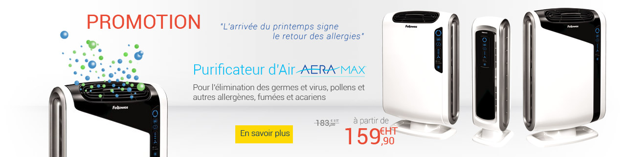 Purificateur d'air Promotion