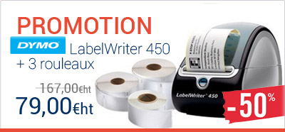 Dymo LabelWriter 450 promotion