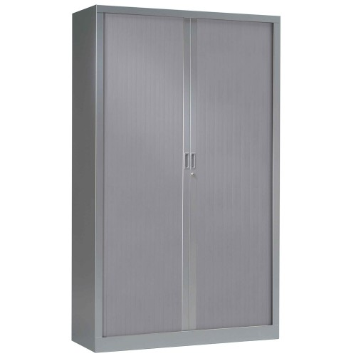 grande armoire en m tal avec rideaux armoire de bureau aluminium. Black Bedroom Furniture Sets. Home Design Ideas