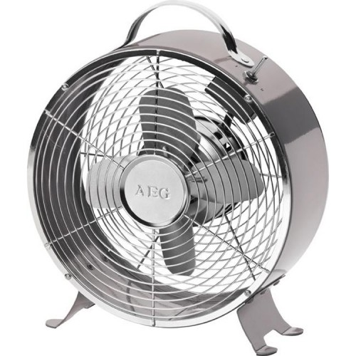 Ventilateur de table silencieux design r tro gris - Ventilateur de table silencieux ...