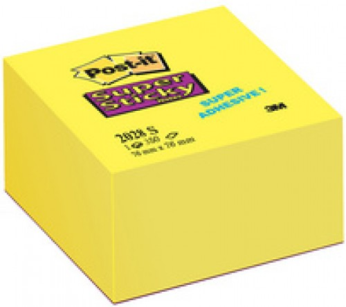 3M Post-it Notes Bloc Super Sticky - 76 x76 mm -
