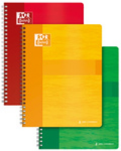 Oxford cahier a reliure spirale - 170 x 220 mm - quadrille