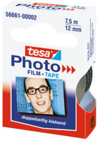 Tesa Film adhésif - 12 mm x 7 -5 m - transparent - paquet