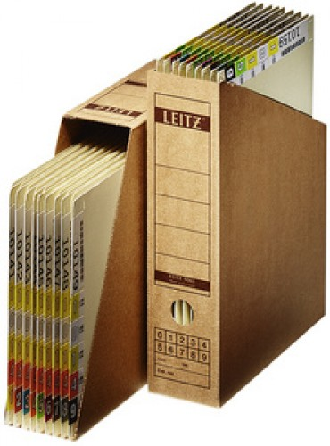 LEITZ Collecteur a archives - format A4 - en carton ondule -