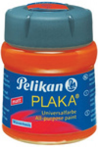 Pelikan plaka - orange (No. 15) - contenu: 50 ml