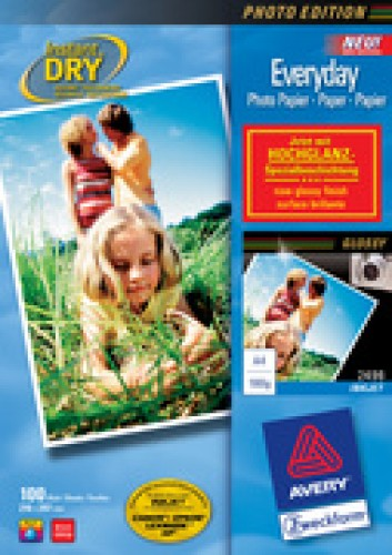 Avery Zweckform Papier photo jet d'encre - A4 - 180 g/m2 - blanc