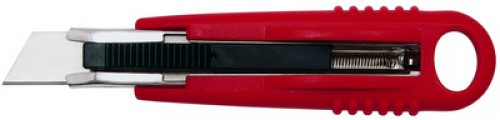 Cutter Safety Standard - lame: 18 mm - rouge / noir -